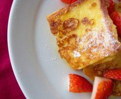 フレンチトースト 2倍食べた気になる方法