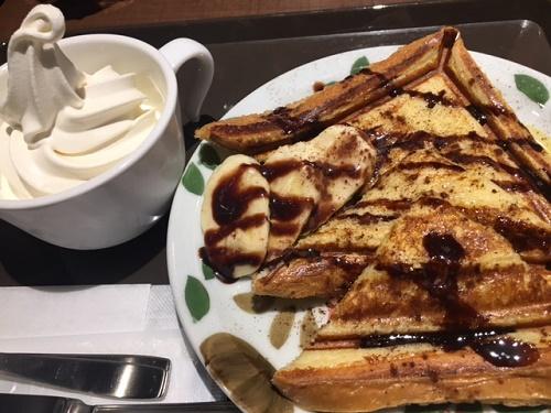 サンマルク フレンチトーストチョコバナナ