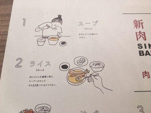 バクテー 食べ方1