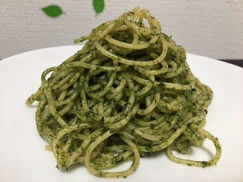 青のりスパゲティー