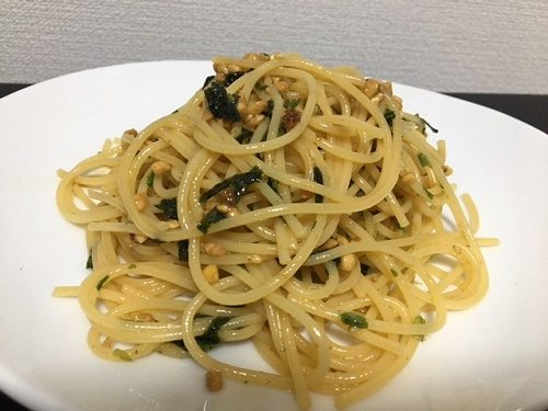 納豆パスタ1