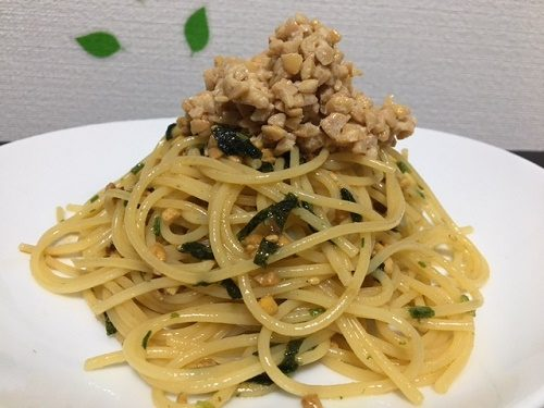 納豆パスタ2