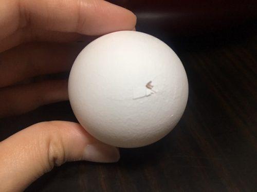 ホットクック ゆで卵 殻2